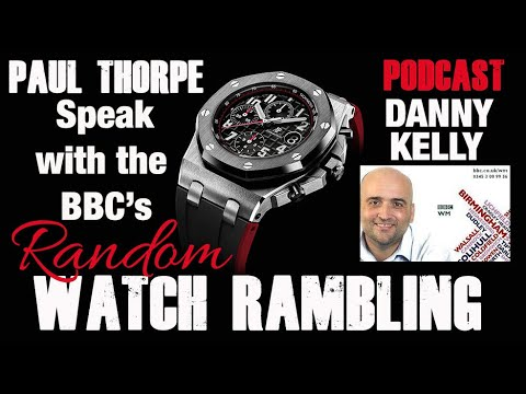 Paul Thorpe Speaks With Danny Kelly At The BBC