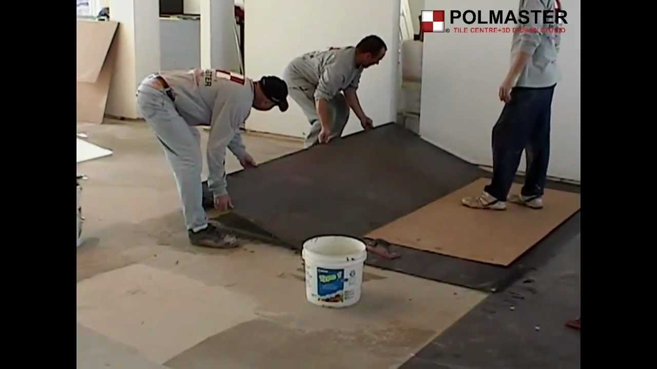 How to install porcelain large format tiles 3'x10'