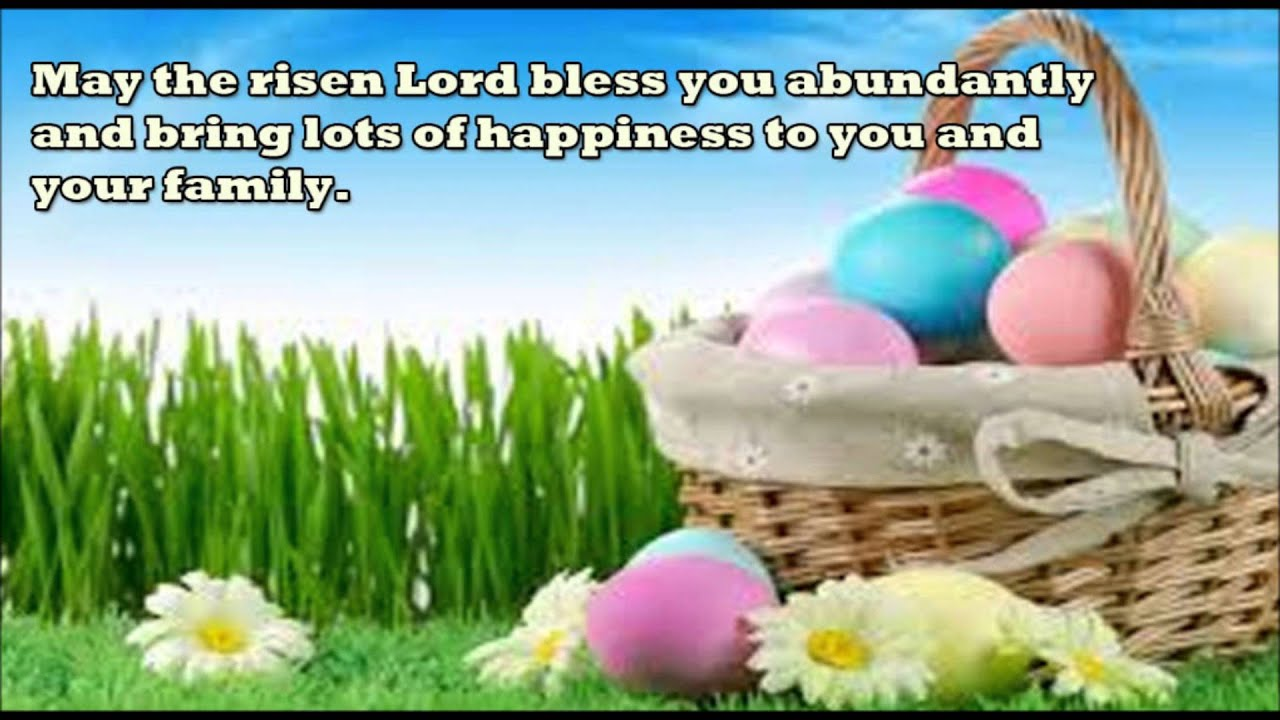 Happy Easter Sunday 2016 Wishes Sms Whatsapp Video Message