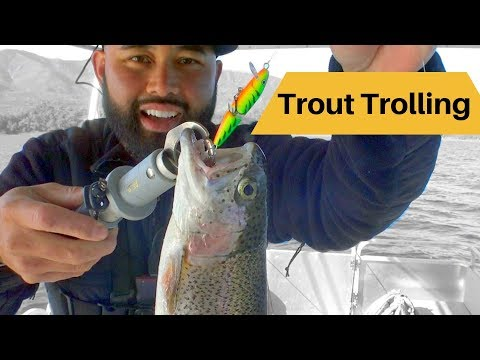 Cachuma Lake Update Before The Trout Derby Trolling For Trout And Crappie