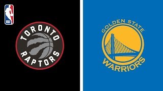 Toronto Raptors Defeat Golden State Warriors 123-109 | NBA Finals | Game 3