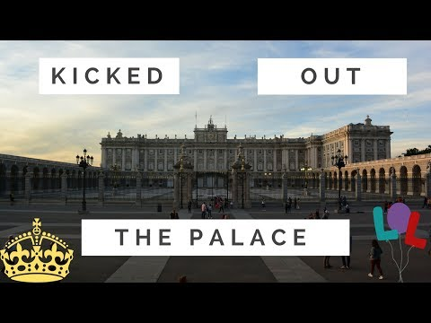 Madrid Royal Palace Tour Getting Kicked Out | Day 6