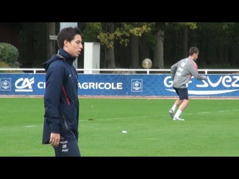 Foot : Nasri attendu lors du match France-Bosnie
