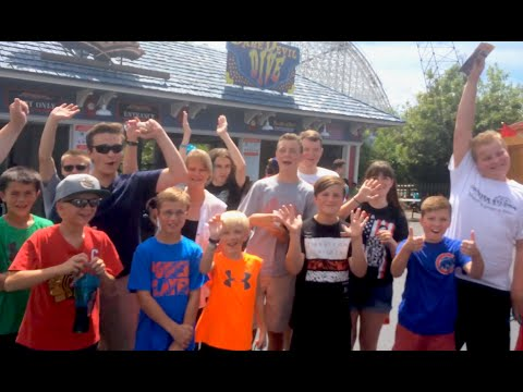 The Great Coaster Roadtrip Day 18: SIX FLAGS GREAT AMERICA (Coaster Vlog #83)