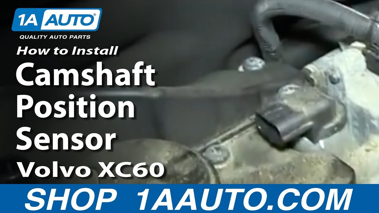 2005 Volvo Xc90 Engine Diagram How To Replace Camshaft Position Sensor 09 17 Volvo Xc60
