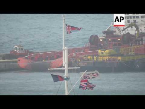 Russian superyacht seized over unpaid bill