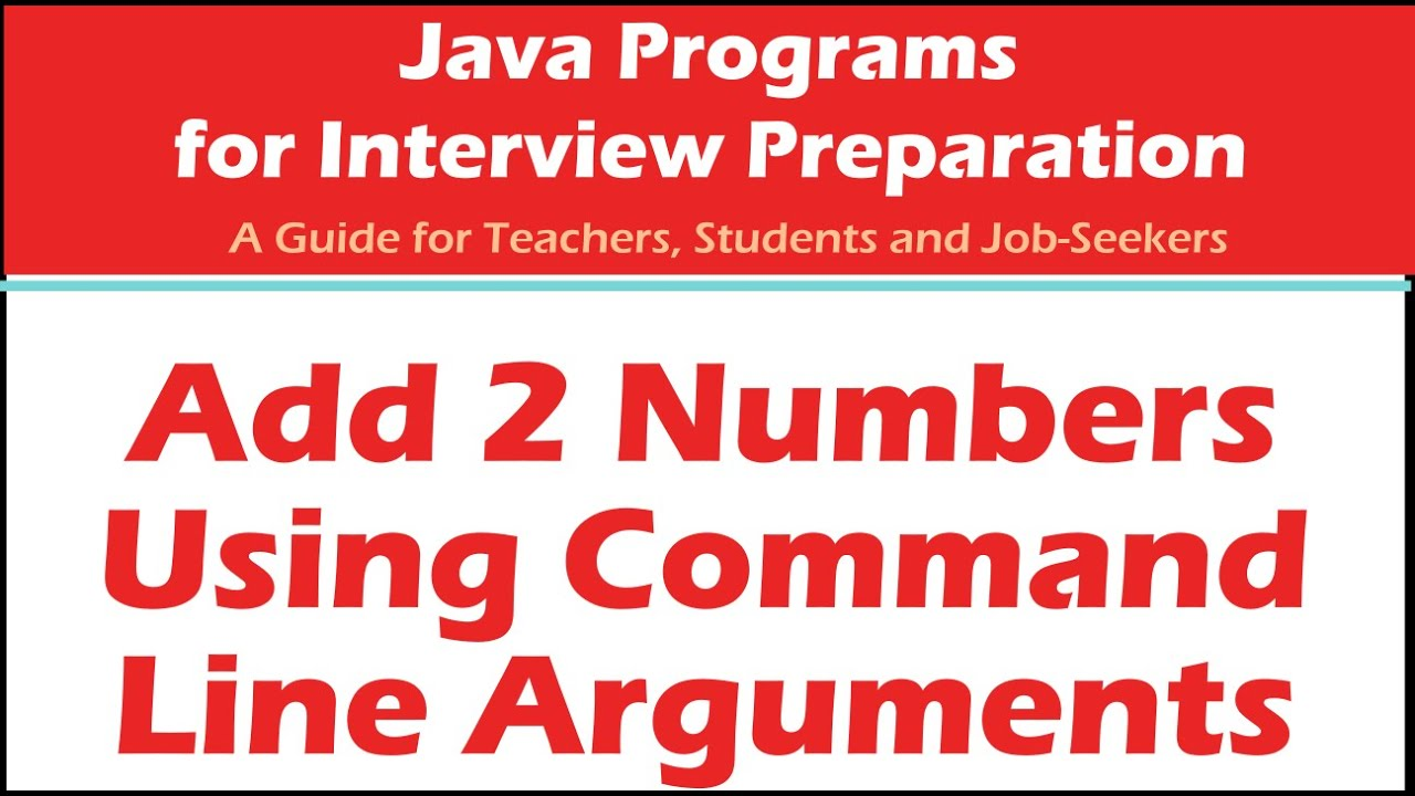 add two numbers in java java programs for interview preparation add two numbers in java java programs for interview preparation