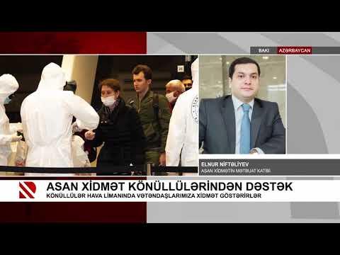 ASAN Könüllüləri Koronavirusla Mübarizədə Fəal Iştirak Edirlər - Real  TV 23.03.2020