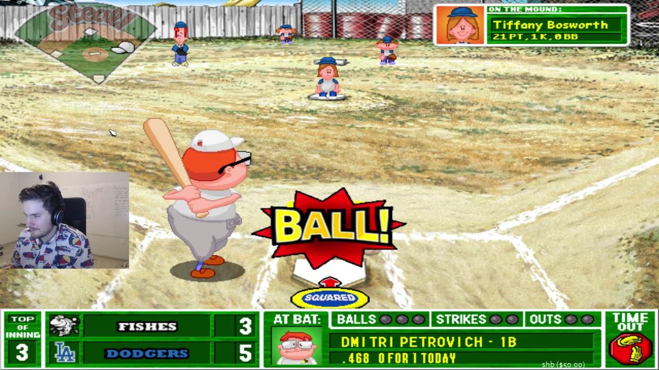 charliewinsmore backyard baseball part 8 youtube