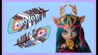 обзор на Изи  stop motion Monster High
