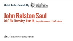 John Ralston Saul - Living with Uncertainty: The Road to Peace