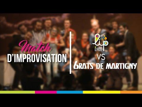 Match d'Improvisation international - LIP vs Les 6Rats (Suisse) - 29 Octobre 2016
