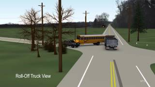 Chesterfield, NJ Accident Animation