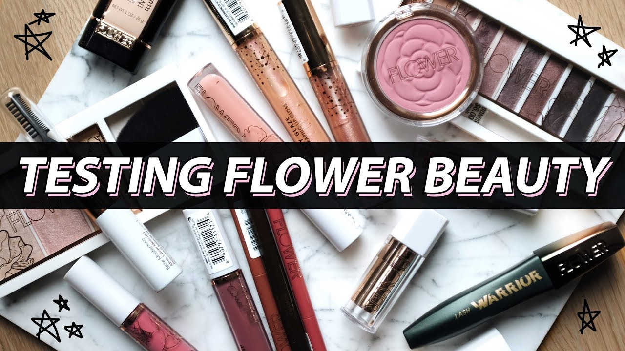 3362b2be9ba TESTING A Full Face Of FLOWER BEAUTY MAKEUP... Is It Worth It?!   Jamie  Paige