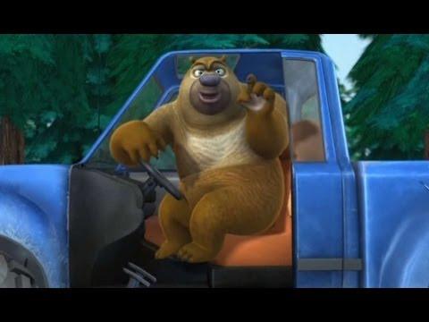 Медведи-соседи 🐻 | 1 сезон 14 серия | Брамбл водитель | Мультики детям