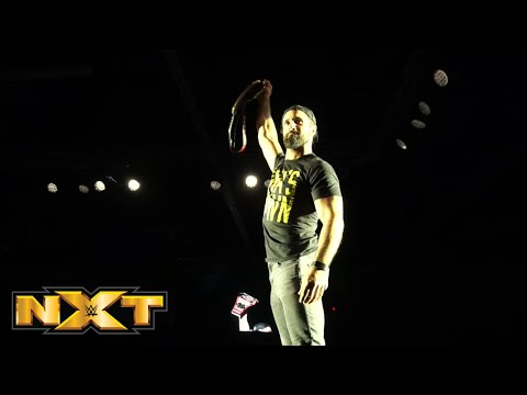 Seth Rollins visits NXT Live in Davenport, IA: NXT Exclusive, April 26, 2019