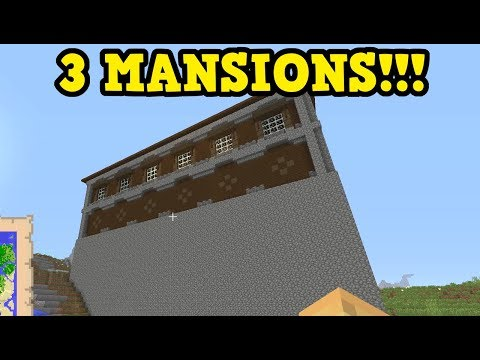 Minecraft Xbox 360 / PS3 Seed - MEGA Mansions, House Ideas