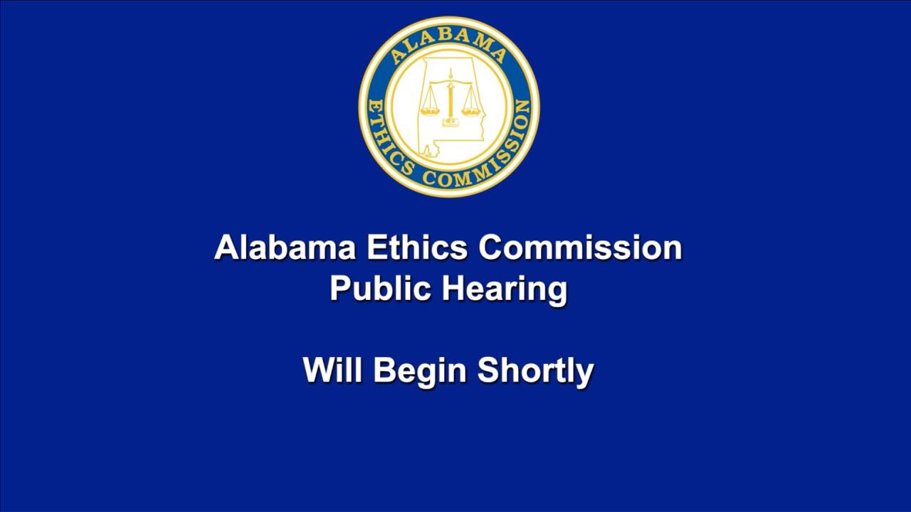 Alabama Ethics Commission Live Stream - YouTube