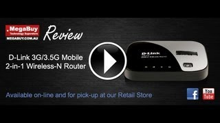 D-Link DIR-412 3G/3.5G Mobile 2-in-1 Wireless-N Router OFFER