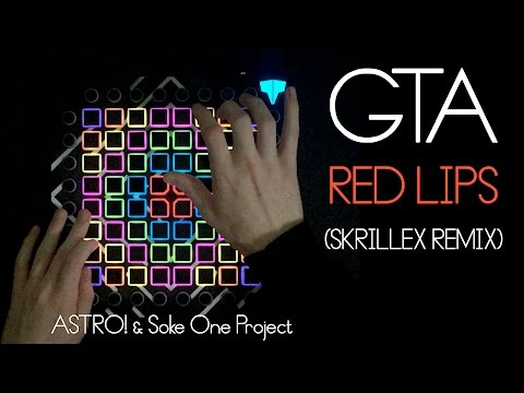 GTA - Red Lips (Skrillex Remix) // Launchpad Cover