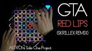 GTA Red Lips Skrillex Remix Launchpad Cover