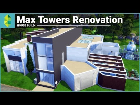 The Sims 4 House Building - Max Towers Renovation