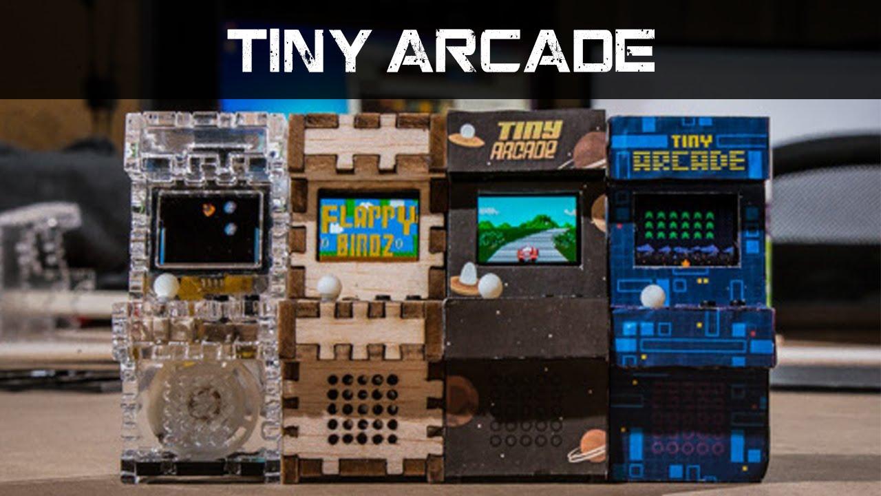 Diy mini arcade machine youtube solutioingenieria Image collections