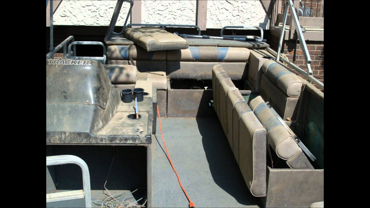 Pontoon Boat Transformation Cleaning Restoration Aluminum Tube Wash Polishing Carpet Shampoo