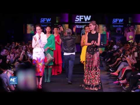 Santiago Fashion Week lleva la alta costura a la capital chilena