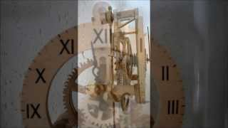 "Wooden Clock ""simple Style"""