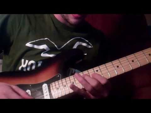 Paul Gilberts Radiator Solo Lesson( Played fast then slow) mp3