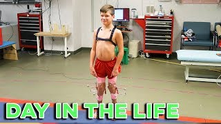 DAY IN THE LIFE | EIGHT YEAR OLD WITH CEREBRAL PALSY IS DETERMINED TO WIN | NEVER GIVE UP | WINNER