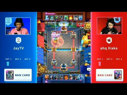 KETEMU XIAKE DI TURNAMEN?! (JayTV)Chaos Theory vs (Ahq Xiake) Ahq Esports - Clash Royale League Asia
