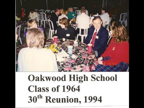 Tom Newbold video of Oakwood High School, Class of 1964, 30th Reunion, 1994, Deja Vu