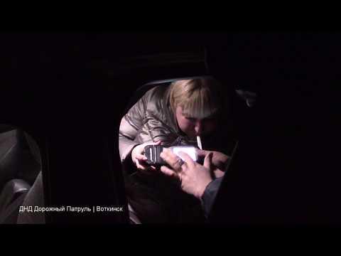 """12.01.2020, Воткинск, задержание пьяной автомобилистки на """"Авео"""""""