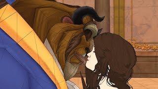 Luna y Matteo en La Bella y la Bestia ! Nina Ama a Gaston, El Bufón! - Soy Luna 2