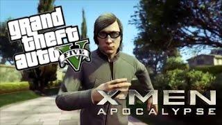 x men apocalypse quicksilver scene gta 5 machinima parody