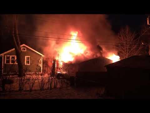 Albany Fire Jan  24, 2019