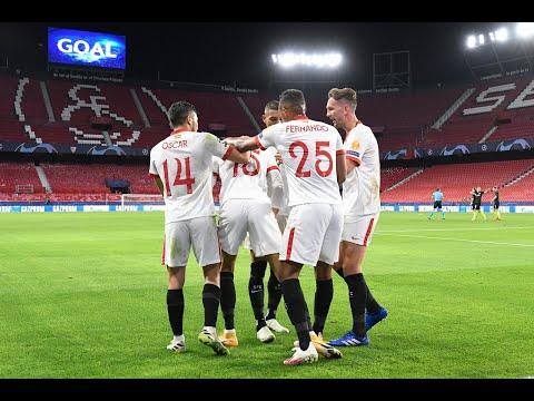 Resumen Sevilla FC - FC Krasnodar J3 Fase de Grupos Champions League 20/21
