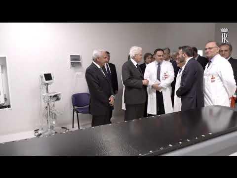 FORLÌ: Mattarella elogia l'IRST di Meldola visitando la struttura | VIDEO