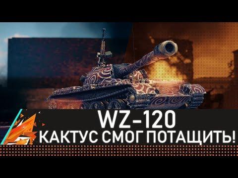 WZ-120 КАКТУС СМОГ ПОТАЩИТЬ!