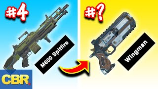 Apex Legends Weapons Ranked From Worst To Best