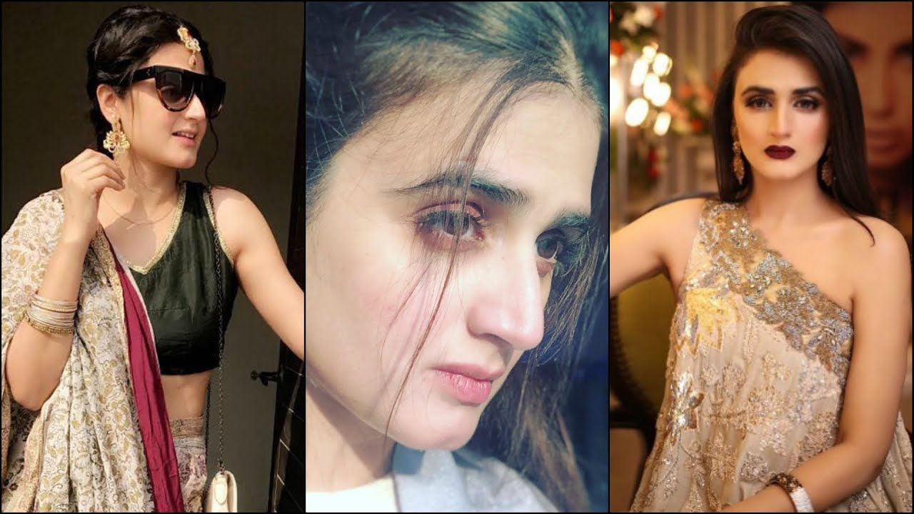 Hira Mani Cute & Beautiful Pakistani Actress Hot Edits Collection   Family   Navel Show