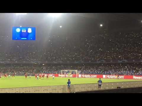 Napoli Liverpool 2 - 0  Gool In Live Di Mertens