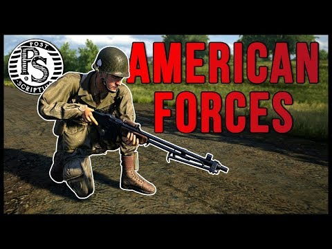 AMERICAN Forces in Post Scriptum! *Exclusive First Look*