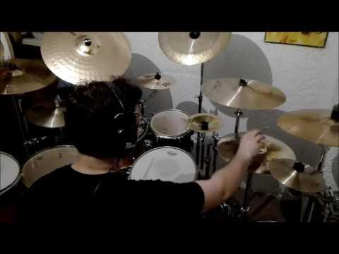 Riot - On Your Knees (Drum Cover Minaki)