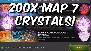 200x Map 7 \u0026 150x Map 6 Alliance Quest Crystal Opening! - Marvel Contest of Champions