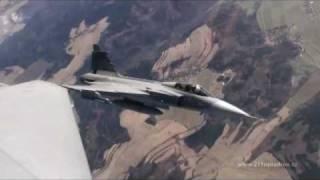 JAS-39 Czech Training Flight