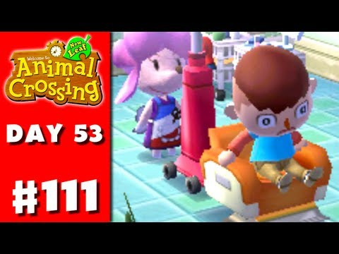 Animal Crossing: New Leaf - Part 111 - Bad Hair (Nintendo 3DS Gameplay Walkthrough Day 53)