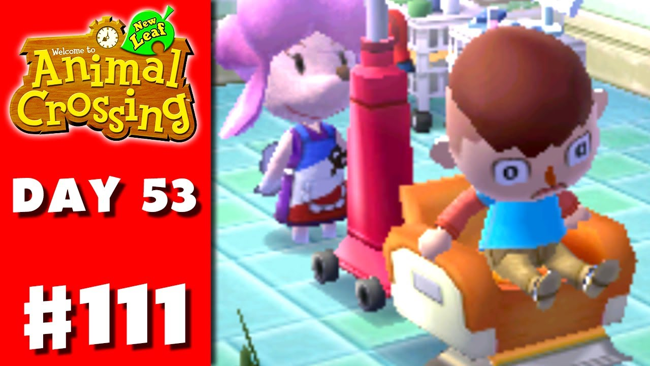 Animal Crossing: New Leaf - Part 111 - Bad Hair (Nintendo ...